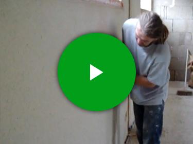 Vidéo talochage enduit chanvre chaux